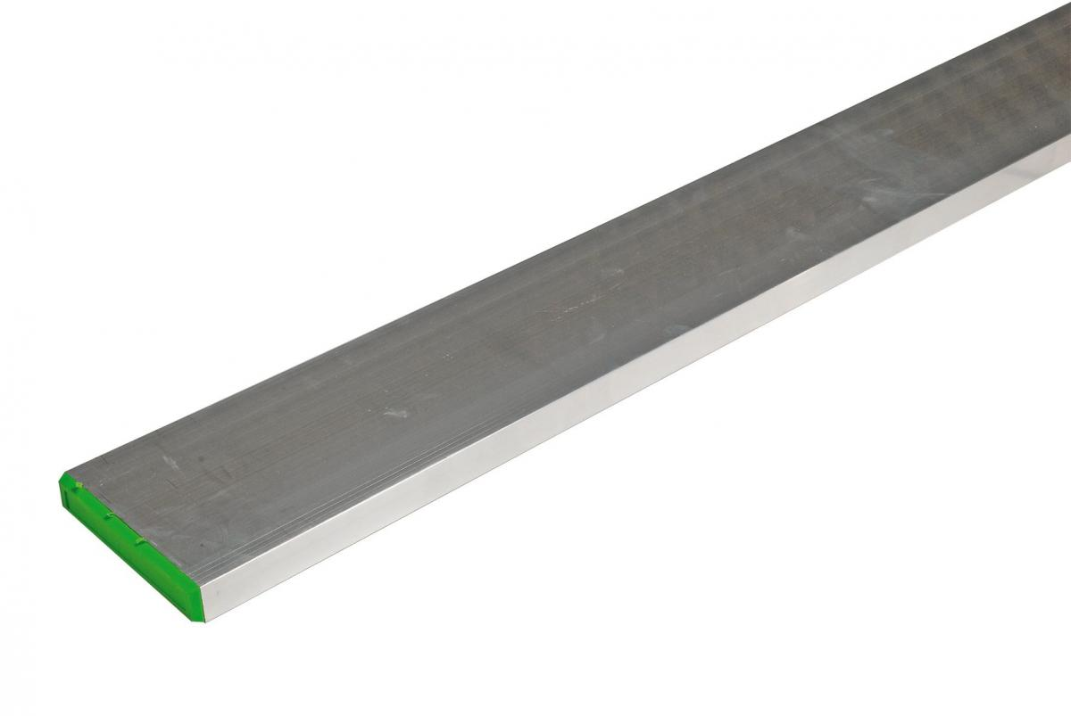 Richtlatte / Richtscheit | aus Aluminium, mit Mittelsteg (Schwan)