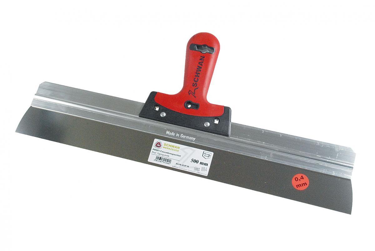 Profi Fassadenspachtel | Blattstärke 0,4 mm (Schwan) 170 mm