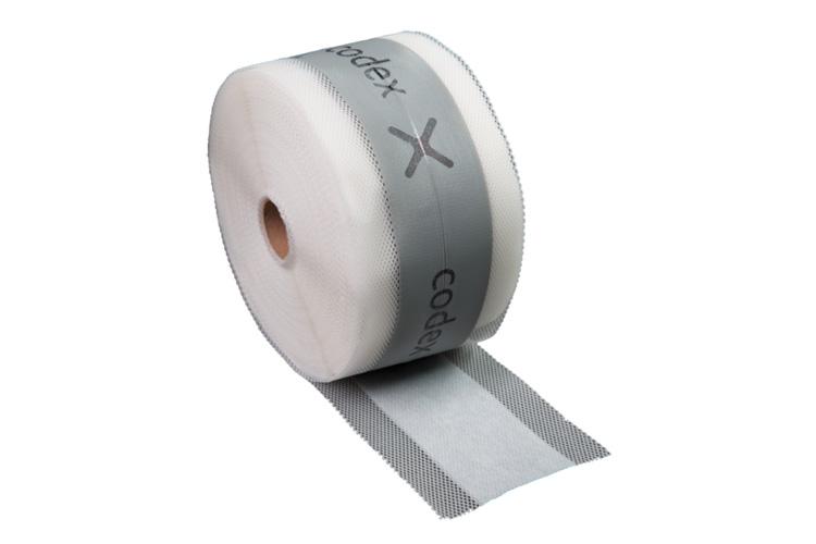 Dichtband für den Innenbereich | Breite 120 mm, grau, 1 Meter (codex DB 120)
