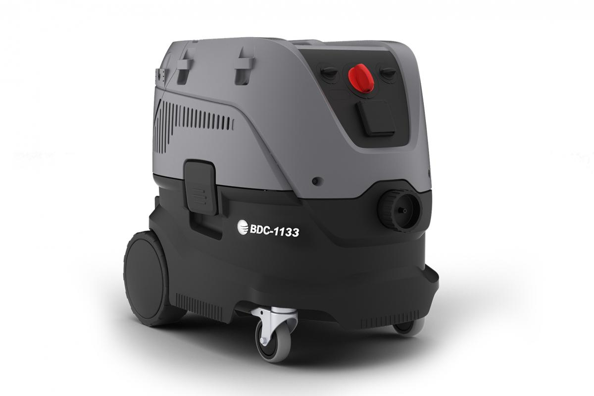 Baustellenstaubsauger / Industriesauger | M-Klasse Filter, trocken & nass (Blastrac BDC-1133)