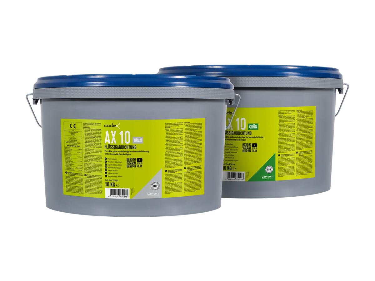 Flüssigabdichtung / Verbundabdichtung | für keramische Beläge im Innenbereich, grau /  grün (codex AX 10)